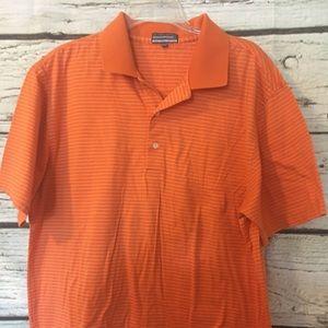 Alan Flusser Men's Golf Shirt, Sz L